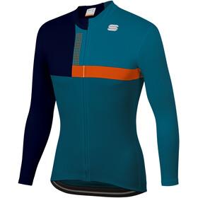 Sportful Bold Thermal Jersey Men blue corsair/orange sdr